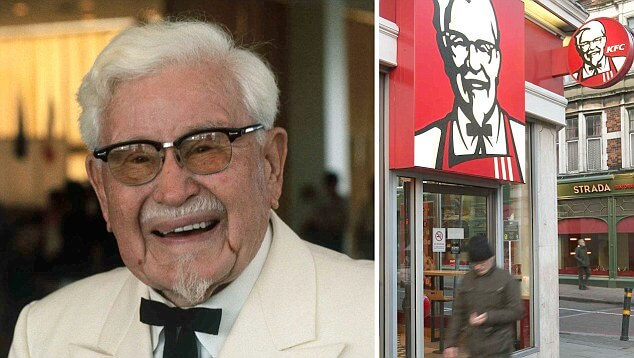 Colonel Harland Sanders, Creator of the famous Kentuckey Fried C