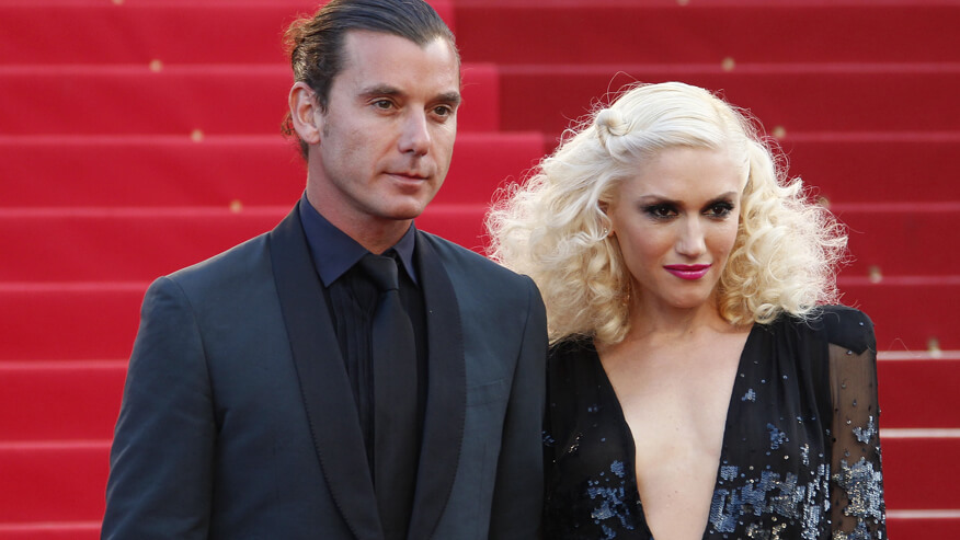 Singer Stefani and musician Rossdale arrive on the red carpet for the screening of the film The Tree of Life by director Terrence Malick in competition at the 64th Cannes Film Festival