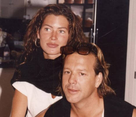 CARRE OTIS SPEAKS OUT ABOUT HER ABUSIVE RELATIONSHIP WITH MICKEY ROURKE