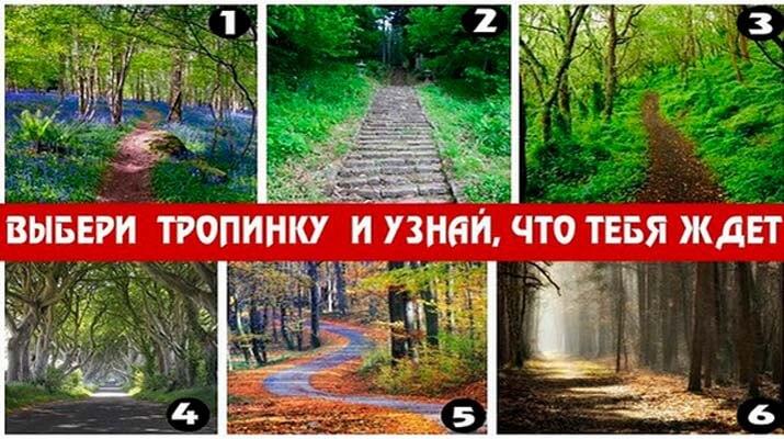 Психологический Тест - Выберите Свой Путь